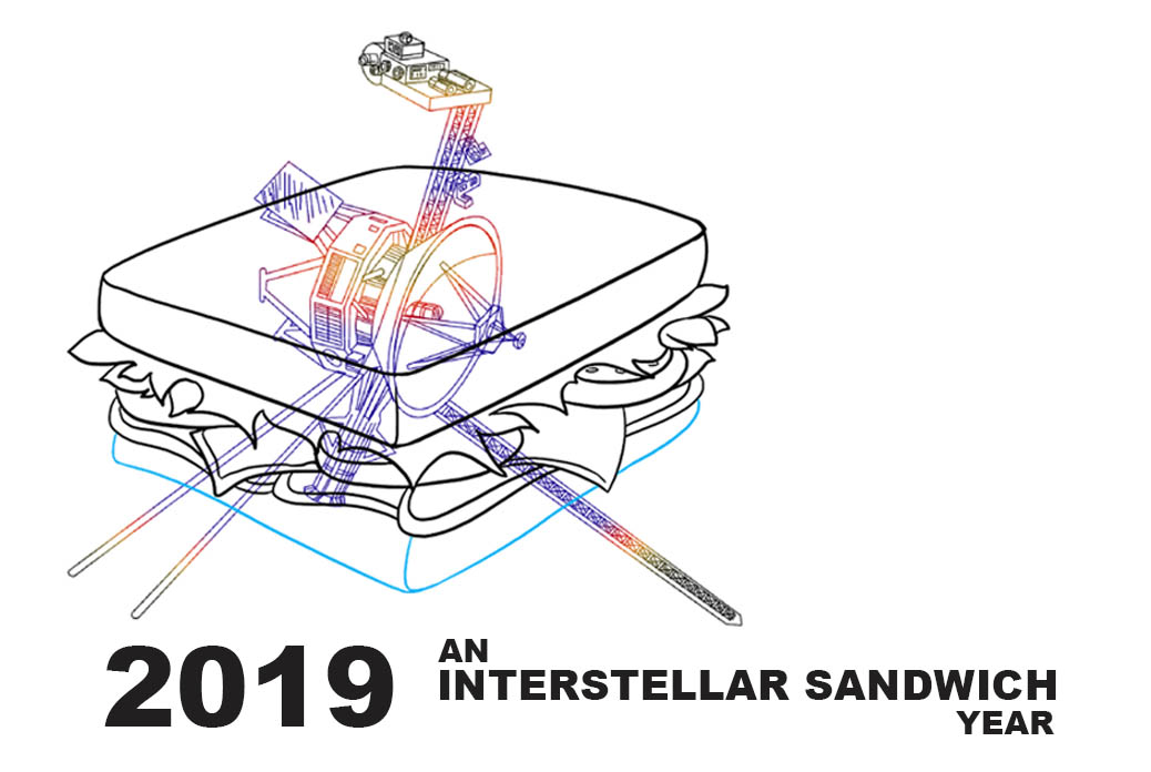 2019 An Interstellar Sandwich Year