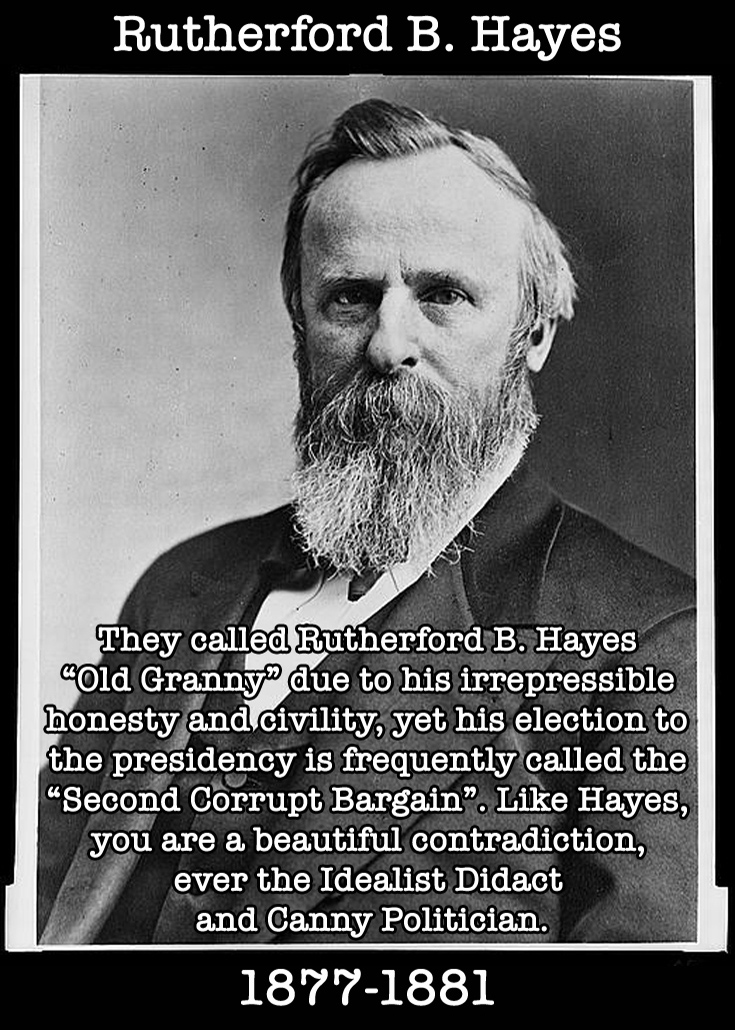 Presidential Compliments: Rutherford Hayes