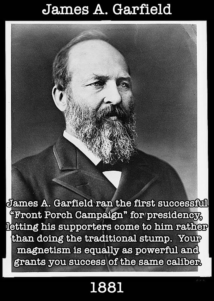 Presidential Compliments: James Garfield