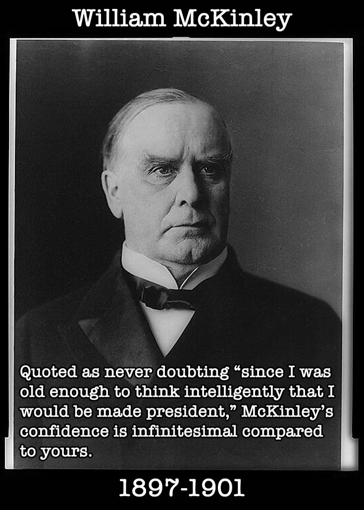 Presidential Compliments: William McKinley