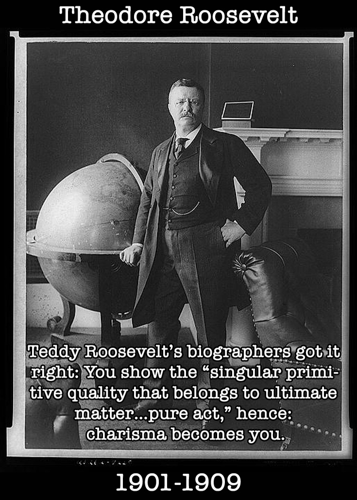 Presidential Compliments: Theodore Roosevelt