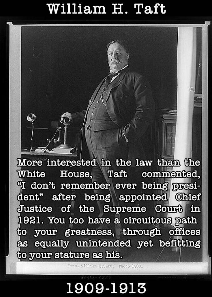 Presidential Compliments: William Taft