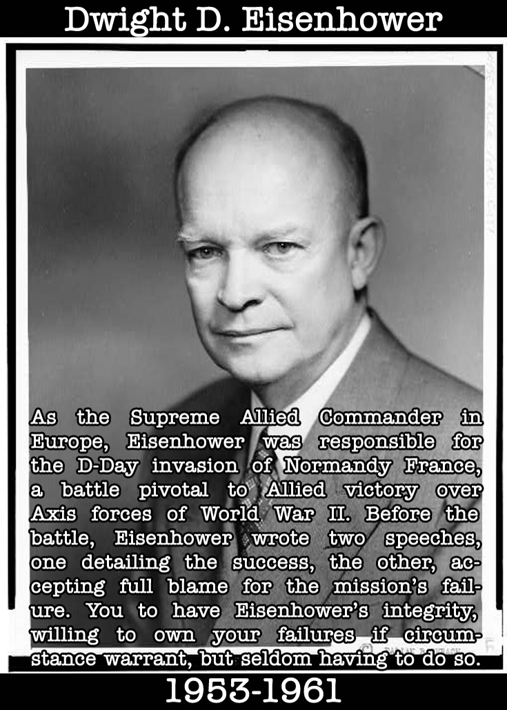 Presidential Compliments: Dwight Eisenhower