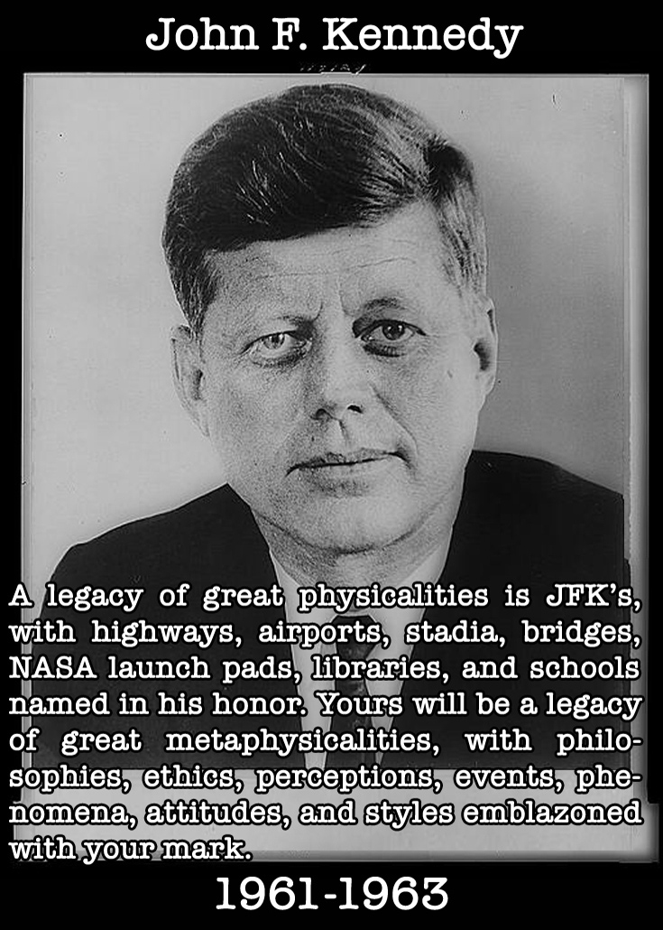 Presidential Compliments: John F. Kennedy