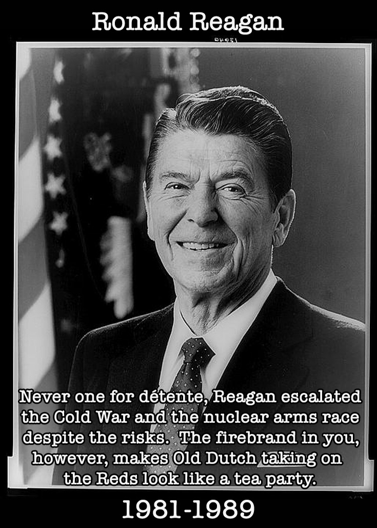 Presidential Compliments: Ronald Reagan