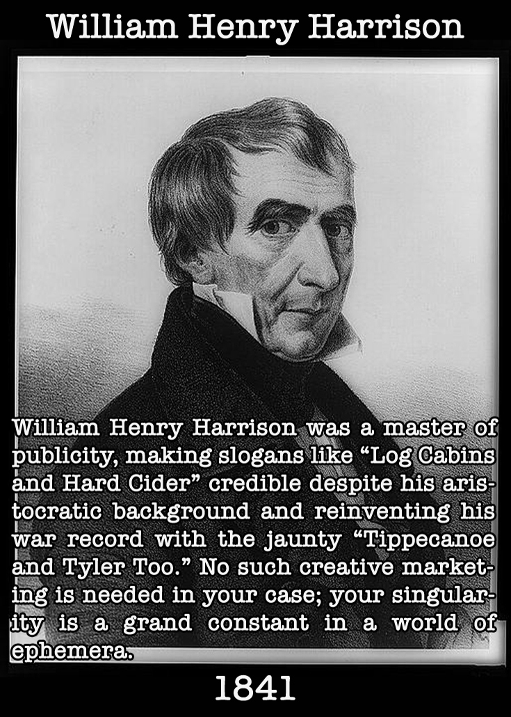 Presidential Compliments: William Henry Harrison