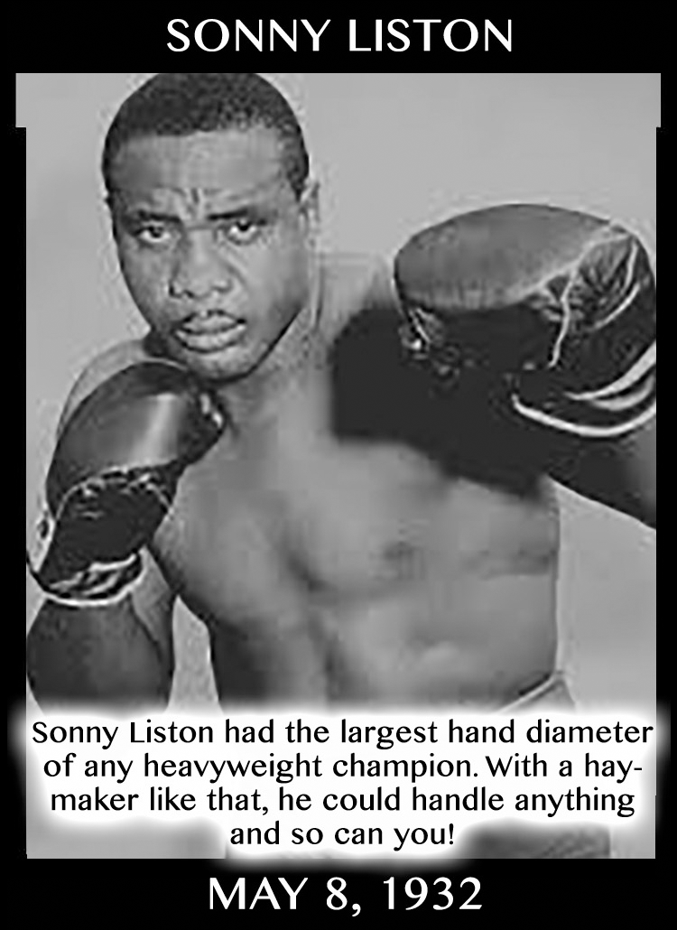Taurean Compliments: Sonny Liston