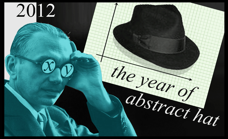 2012 The Year of Abstract Hat